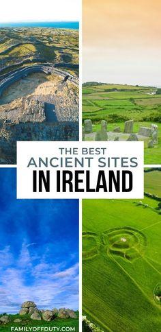 The best ancient sites in Ireland, Irish ancient locations to visit, Irish medieval locations, Irish viking sites #europe #ireland