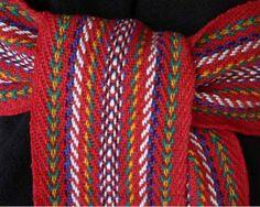 Métis/French-Canadian Sash (Arrow Sash) Tablet Weaving, Bead Weaving, National Aboriginal Day, Finger Weaving, Scratchboard Art, Nativity Crafts, Native Beadwork, Canadian Art, Easy Sewing Patterns