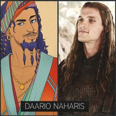 I try not to complain about deviations from the books, but Daario is an exception. Would it really have been so hard to pull off?