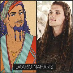 1000+ images about Daario Naharis on Pinterest | Game of ... Daario Naharis Book