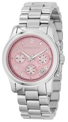 Michael Kors MK5198 pink face watch