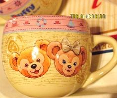 Duffy & Shellie May new mug at Disney Sea