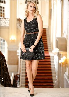 #polka-dotted #dress #bonprix