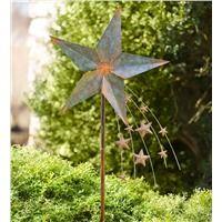 Falling Star Garden Wind Spinner