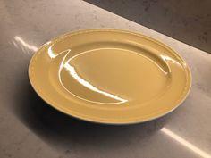 Gul Grete fra Figgjo | FINN.no Pie Dish, Plates, Dishes, Tableware, Licence Plates, Plate, Plate, Dinnerware, Dish