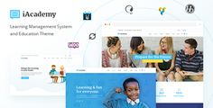 iAcademy v1.1.0  A Comprehensive Learning Management System  Blogger Template