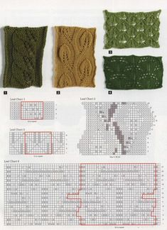Leaf Knitting in Many Ways. More great patterns like this: Single Leaf in a Diamond Lace Panel Leaf Bubbles Knitting Stitch Vertical Leaf Lace Knit Stitch Vertical Leaves and Lace Knit Stitch Pattern Knitting Charts, Lace Knitting, Knitting Stitches, Knitting Patterns Free, Afghan Crochet Patterns, Lace Patterns, Stitch Patterns, Hood Pattern, Seed Stitch