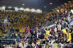 aficion del Herbalife Gran Canaria, Copa del Rey 2015- Gran Canaria.... en el Gran Canaria Arena