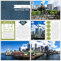 Super Ideas for travel book ideas layout project life Project Life Scrapbook, Project Life Album, Project Life Layouts, Project Life Cards, Pocket Page Scrapbooking, Travel Scrapbook Pages, Digital Scrapbooking Layouts, Scrapbook Layouts, Cruise Scrapbook