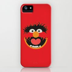 The Muppets Show Vintage Art Animal Retro Style Minimalist Poster Print iPhone & iPod Case