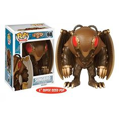 Songbird Pop Vinyl Figure from the Bioshock Infinite game Brought to you by Pop In A Box, the site Funko Pop! Bioshock Infinite, Geek Games, Pop Games, Pop Vinyl Figures, Funko Pop Figures, Video Game Art, Video Games, Pop Toys, Geek