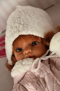 Realistická panenka Emily Chaqueta od firmy Antonio Juan ze Španělska