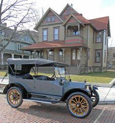 1914 Buick B-25, 5-Passenger Touring - (Buick Motor Car Company, Flint, Michigan 1903-Present)