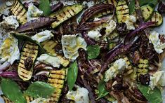 Char-grilled vegetables done on the barbecue have such a scrumptious, robust   flavour they replace the need for meat
