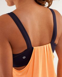 Lululemon: Back On Track Tank I like the back of this tank, but the front looks a bit like a maternity top, not liking that part.