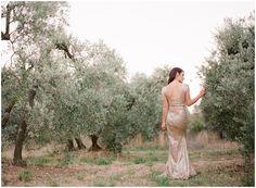 Gold Wedding Dress by Zhavit Tshuba | Gert Huygaerts Photography 6