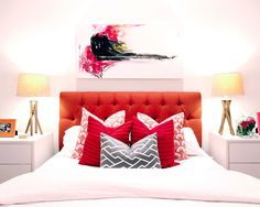 The right way to make a bed: guidelines, tips and tricks to getting the right look for twin, full/queen and king from a pro.