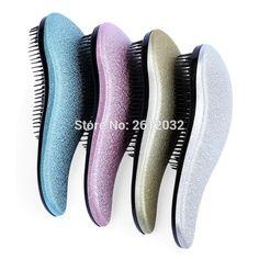 Magic Detangling Hair Brush Comb Professional Massage Hair Comb Anti-static Styling Tool Hairbrush Salon Tamer H201712 #Affiliate