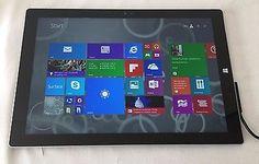 Microsoft Surface Pro 3 Core i5 4300U 1.9GHz 8GB 256GB win 8 pro doesn't charge #sale #ipad