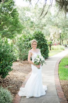 Wedding at Cypress Grove Estate House  Dress by Maggie Sottero  Photo by Stephanie for Kristen Weaver Photography