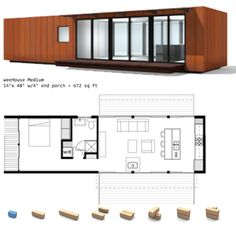 EStudio container 1 dormitorio