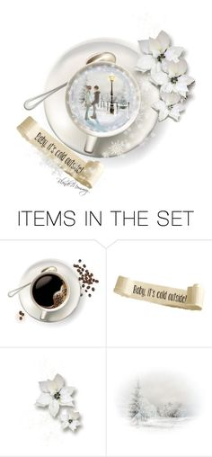 """""""A Cup Of Winter Warmth and Love"""" by blondemommy ❤ liked on Polyvore featuring art, contest, contestentry and WhatDoYouSeeInTheCup"""