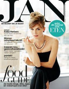 Katja Herbers | Cover JAN Magazine 1/2-2015 | Photo by Roger Neve