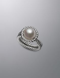 10.5mm Pearl Cable Ring