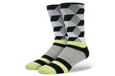 Stance Socks Geometric Black L/XL |  | Artikelnummer: 1806