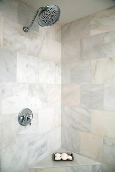 Shower tile - Life Is Just a Tire Swing: A Woodway, Texas Fixer-Upper | HGTV