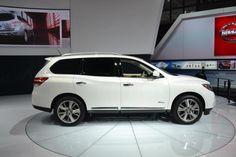 2014 Nissan Pathfinder Hybrid | 2013 New York International Auto Show
