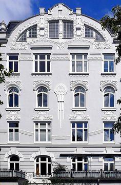   ♕    Hamburg - Eppendorf - Jugendstil 007
