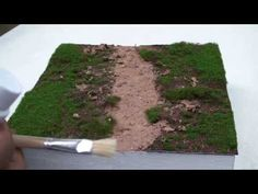 HOW TO BUILD A DIORAMA TUTORIAL(forest setting) by dubblestein - YouTube