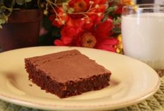 Best Ever Brownies :: Ohio Amish Country Recipes. Chocolate Brownies. Dessert. Frosting. Miller Haus. LeeAnn Miller.