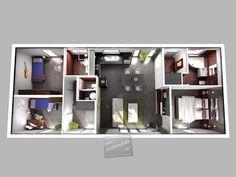 Modula 100 dřevostavba 4+kk na klíč | Rodinné domy, dřevostavby, bungalovy