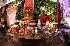 BRANCA DE NEVE - ANTES DA FESTA Snow White, Table Decorations, Party, Glamour, Home Decor, Quinceanera, Colors, Ideas, Seven Dwarfs
