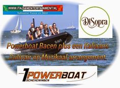 Italian Entertainment And More: RIB Powerboat varen in Scheveningen met een Italia...