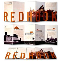 22 redhook 25 Striking Brochure Designs