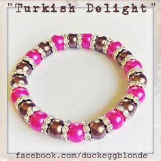 BRACELETS | CHARMS | JEWELLERY | JEWELRY | HAND MADE | BEADS | AUSTRALIAN MADE | GIFTS | DUCK EGG BLONDE | TURKISH DELIGHT
