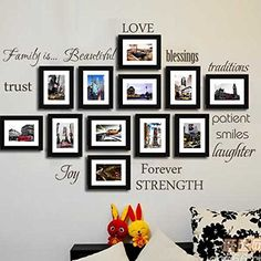Family is ... Family rules words Gallery Vinyl Wall Decal Sticker Quote Art ,without Picture Frames Geckoo http://smile.amazon.com/dp/B00M6KT8GY/ref=cm_sw_r_pi_dp_2Jruvb0GMM9K3
