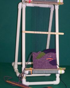 pvc tapestry loom plans - Google Search
