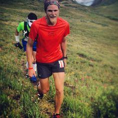 Arc'teryx athlete Joe Grant at the Hardrock 100 endurance run