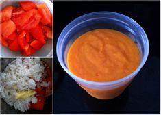 Montage Photos_PetitPlatBebe_Souper_Rizpoivronrouge Baby Cooking, Cornbread, Mashed Potatoes, Table, Pudding, Ethnic Recipes, Desserts, Food, Photos