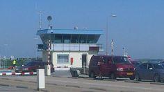 Dag 6 #35dagen #Ruiten de ruiten van het huisje van de Teso veerboot vanaf Texel. Op weg naar huis!