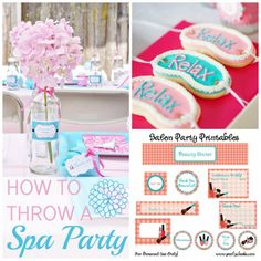 A-dor-a-ble spa party for girls!
