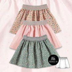 Knitting for beginners baby sewing machines 17 ideas Sewing For Kids, Baby Sewing, Sewing Clothes, Diy Clothes, Toddler Fashion, Kids Fashion, Girls Skirt Patterns, Skirt Pattern Free, Diy Vetement