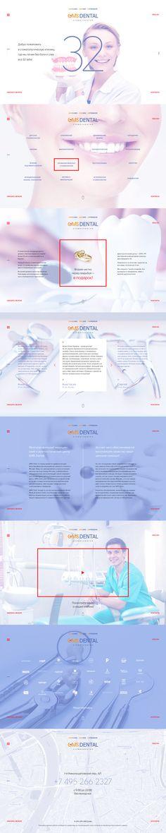 стоматология  © 2017 www.fntw.ru  #landing #landingpage #web #webdesign #design #freelance #stuion #portfolio #fntw Landing, Web Design, Design Web, Site Design, Website Designs