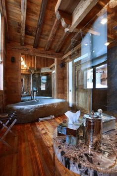 Very cool but not very good for daily use, the floor is going to rot? :) Chalet Marco Polo - Val d'Isère