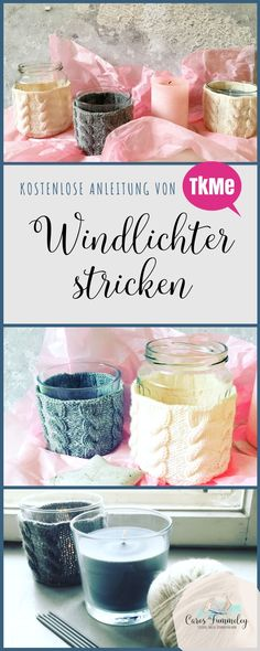 Knitting lanterns - The Knitting Me - Caros Fummeley& free tutorial Knitting lanterns – Free DIY knitting instructions in German Knitting Blogs, Knitting For Beginners, Free Knitting, Knitting Projects, Knitted Headband, Chunky Yarn, Knitted Blankets, Crochet Clothes, Macrame