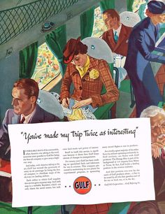 Used in Collectibles, Advertising, Other Old Advertisements, Advertising, Vintage Prints, Vintage Posters, Airplane Interior, Old Gas Stations, Come Fly With Me, Retro Ads, Old Ads